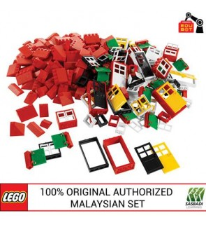 LEGO Education Doors, Windows & Roof Tiles 9386