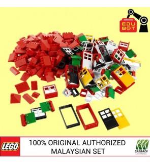 LEGO Education Doors, Windows & Roof Tiles 9386