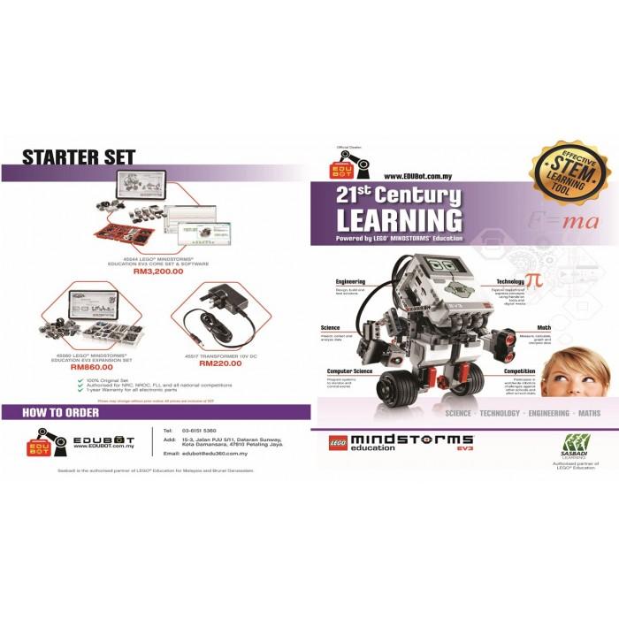 LEGO Mindstorms EV3 Core Set, Expansion Set & Charger 45544