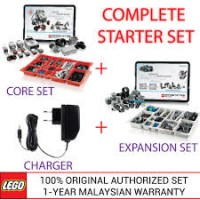 LEGO Mindstorms EV3 Core Set, Expansion Set & Charger 45544 45560 45517 (Malaysia Original Set)