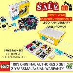 LEGO Education SPIKE Prime Set 45678  +  Expansion Set 45680 Official Malaysia Set