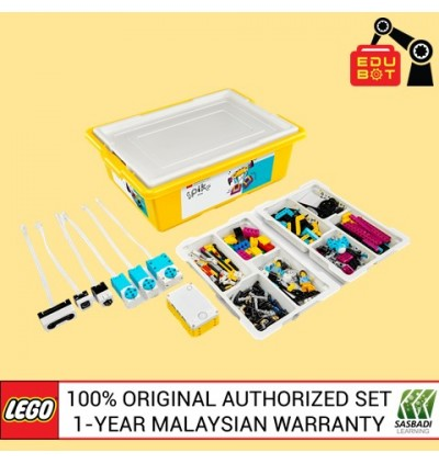LEGO Education SPIKE Prime Set 45678  +  Expansion Set 45680 Official Malaysia Set