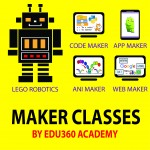 Makerlogy Junior Maker School @ EDU360 Academy - 1 year (40 Classes)